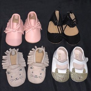 Baby girl Shoes , 0-3 months